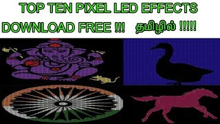 Pixel Led Effects Free Download