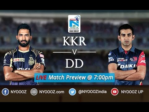 Watch : KKR vs Delhi IPL Match Preview | IPL 2018 Match 13 | IPL Match Discussion Live