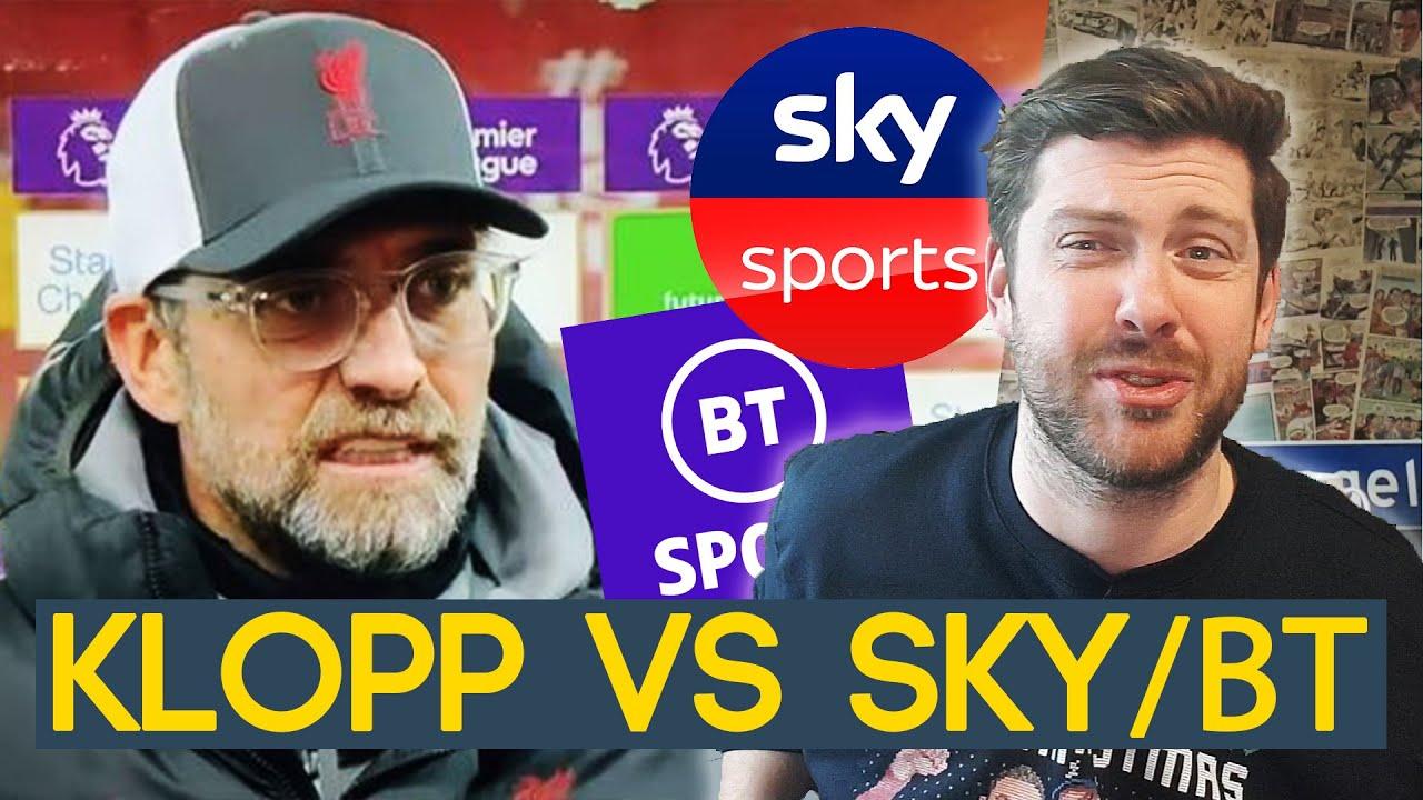 KLOPP VS SKY SPORTS AND BT