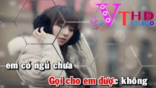 [karaoke Full HD] Chỉ Còn Anh Và Mưa - Văn Trường Studio