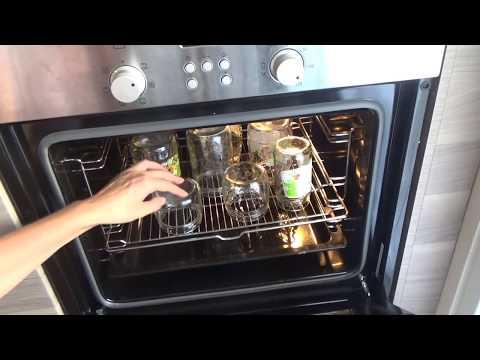 0 - Стерилізація скляних банок на плиті, в духовці і МІКРОХВИЛЬОВІЙ печі