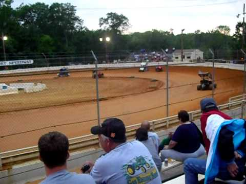 Micro Sprint Car heats at Airport Speedway
