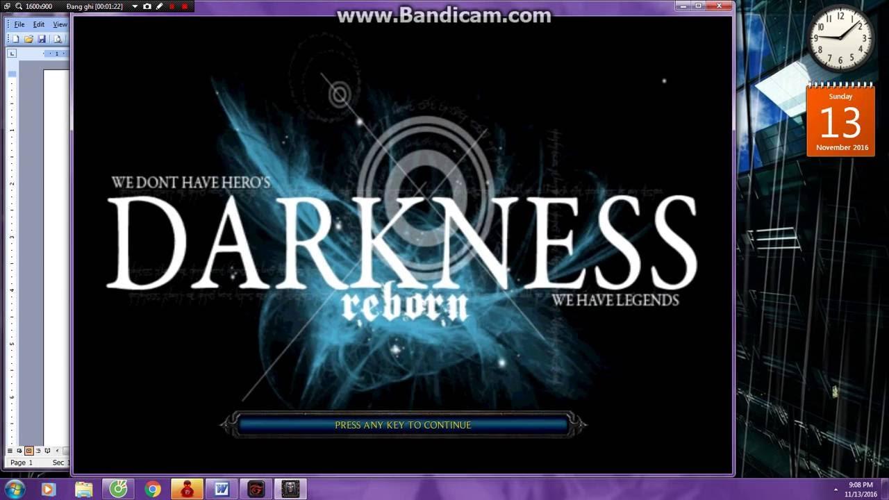 [ Warcraft III ] Darkness reborn VN : Code