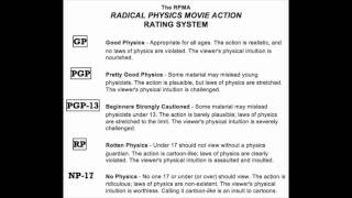 Radical Physics Movie Action (RPMA) Rating System