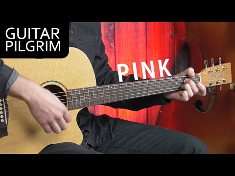 ''Pink'' By Aerosmith ACOUSTIC Guitar Lesson