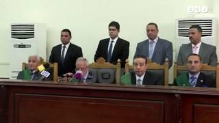 رصد |  النطق بالحكم علي ٩ متهمين في قضية أحداث البدرشين