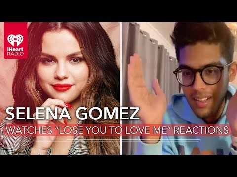 """Selena Gomez Reacts To Fans Hearing Her Single """"Lose You To Love Me"""" For The First Time!"""