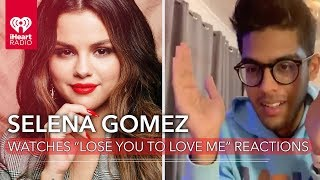 "Selena Gomez Reacts To Fans Hearing Her Single ""Lose You To Love Me"" For The First Time!"