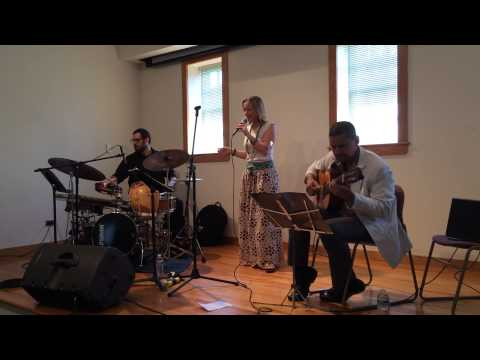 Sofia Tosello Performing at the Long Island Museum's Latino Music Series