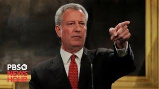 WATCH: New York City Mayor Bill de Blasio gives coronavirus update -- August 11, 2020