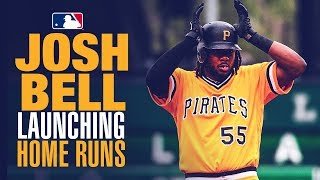 Josh Bell - Wrecking baseballs in May