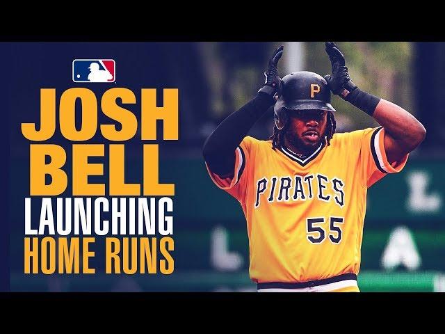 Josh Bell - Wrecking baseballs in May