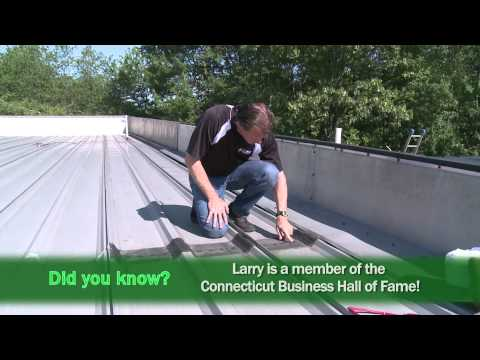 Insulating a roof with Spray Foam - YouTube