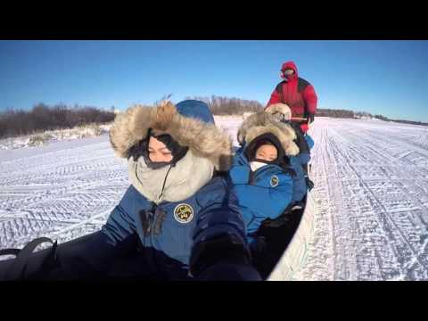 February 2016: Yellowknife, Northwestern Territories, Canada