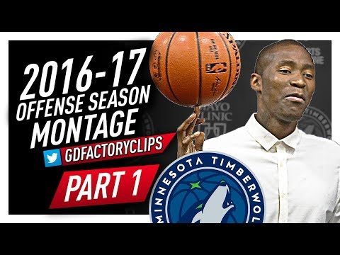 Jamal Crawford Offense Highlights Montage 2016/2017 (Part 1) - Welcome to the Timberwolves!