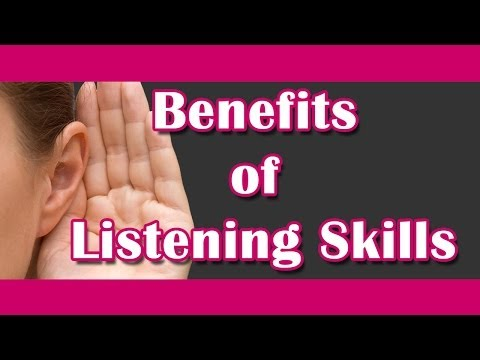 Benefits of Listening Skills  Listening English Practice  BM English Speaking