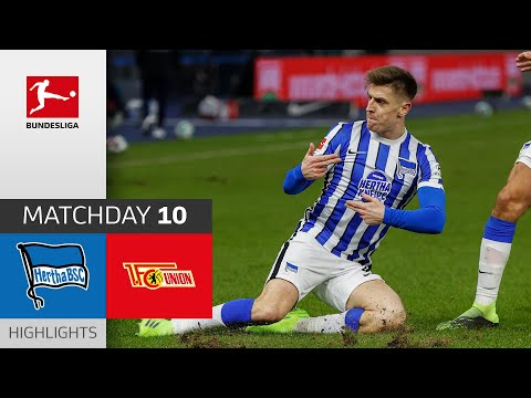 Hertha Berlin - Union Berlin | 3-1 | Highlights | Matchday 10 – Bundesliga 2020/21