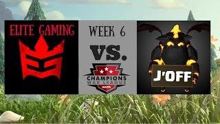 Elite gaming vs J' Off | CWL Invite week 6! | Clash of Clans