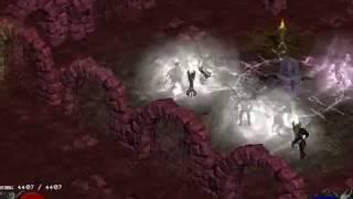 Diablo 2 Median XL 2018 прохождение излучателя смерти 2 уровневое испытание