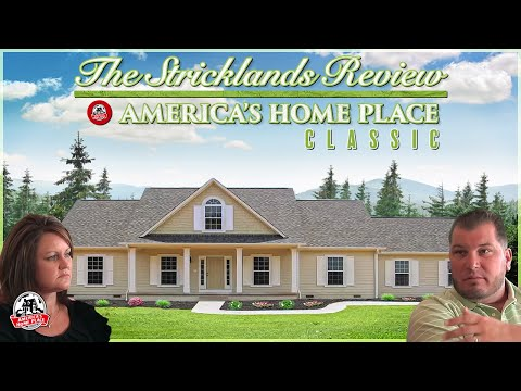 The Strickland Review America S Home Place Customer Testimonial Custom Homes Built On Your Land