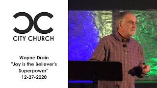 Wayne Drain I City Church I 12-27-20
