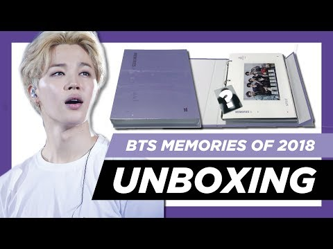 ✨[unboxing]-bts-memories-of-2018-dvd-+-weply-pre-order-gift!-✨
