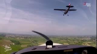 Karl Habsburg v Lothringen Friedensflug 2018 Cessna L19 Bird Dog historic flight for freedom
