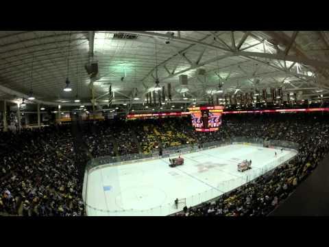 Time Lapse: Minnesota Gophers vs. Wisconsin Badgers, B1G Hockey Opener