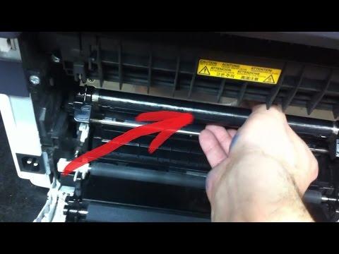 Kyocera FS-1025 | Грязная печать | Бледная печать | Серый фон