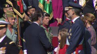 Reyes de España presiden el Día de la Fiesta Nacional