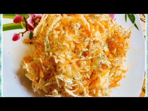 Как приготовить вкусную маринованную капусту быстрого приготовления. Самый вкусный рецепт!