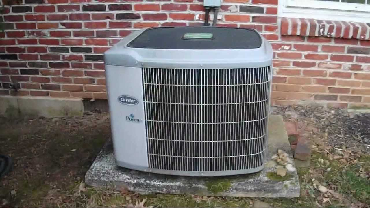 2003 carrier weathermaker 4-ton central air-conditioner - youtube