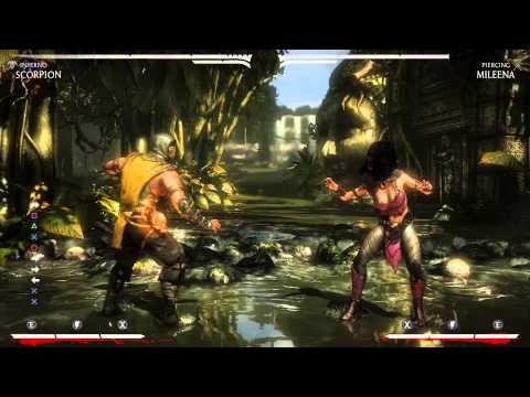 Mortal Kombat X - Combo System Tutorial, Training Mode Tips (1080p 60fps)