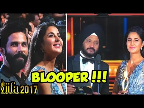 Katrina Kaif - Shahid Kapoor Major Goof Up At IIFA Awards 2017, Gets Massively Trolled