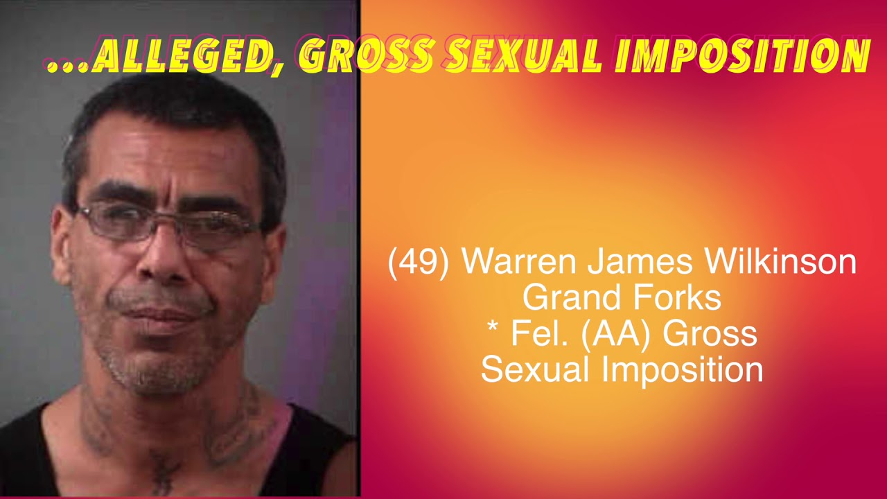 Gross sexual imposition in ohio