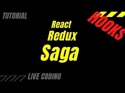 React  Redux Saga Hooks - Live Coding Tutorial