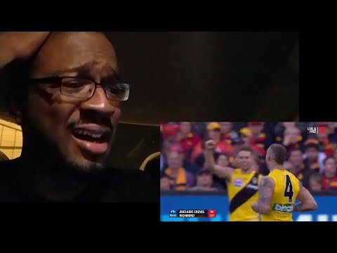 AFL Grand Final Highlights - Adelaide vs. Richmond! REACTION