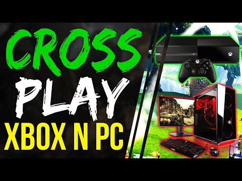 Fortnite Battle Royale How To CROSS PLAY WITH XBOX ONE AND PC - PLAY FORTNITE ON PS4 XBOX 1 With PC
