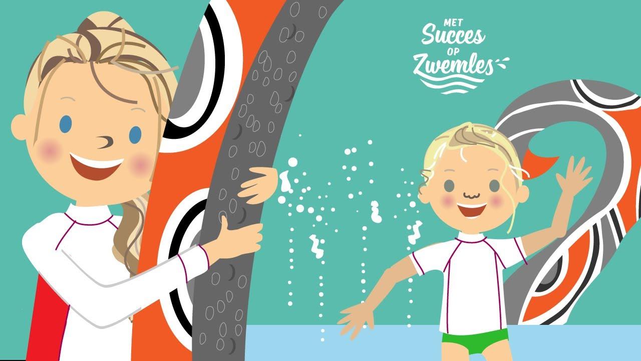 Octopus Route | Met Succes Op Zwemles | Sporten En Zwemmen | Jongste Zwemjuf | Waterpretpark