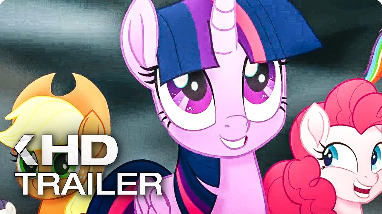 My little pony the movie all trailer clips 2017 youtube for Little pony watches