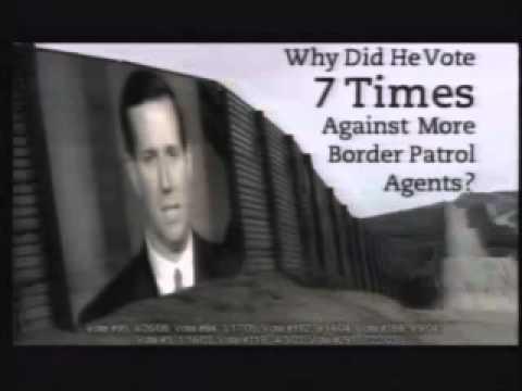 "Bob Casey on Immigration: 2006 Ad ""Border"""