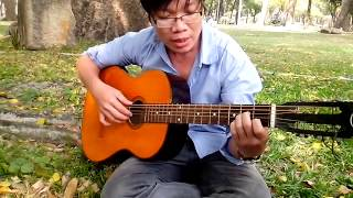 bac trang lua hong guitar