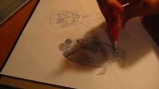 Drawing Dick Dastardly and Muttley (Pierre Nodoyuna y Patán)