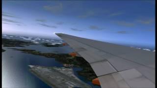 Singapore Arlines boeing 777 Hong Kong - Changi FS2004 HD