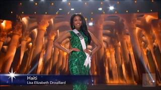 Miss Haiti Universe 2015 in Preliminary Competition