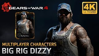 Gears of War 4 - Multiplayer Characters: Big Rig Dizzy
