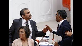 CHP Milletvekili Gürsel Erol ile HDP Milletvekili Sırrı Süreyya arasında 'PKK' gerginliği