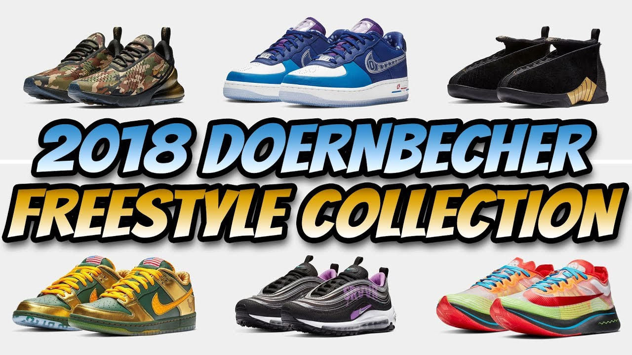 74861c7b3e72 2018 NIKE DOERNBECHER FREESTYLE COLLECTION - YouTube