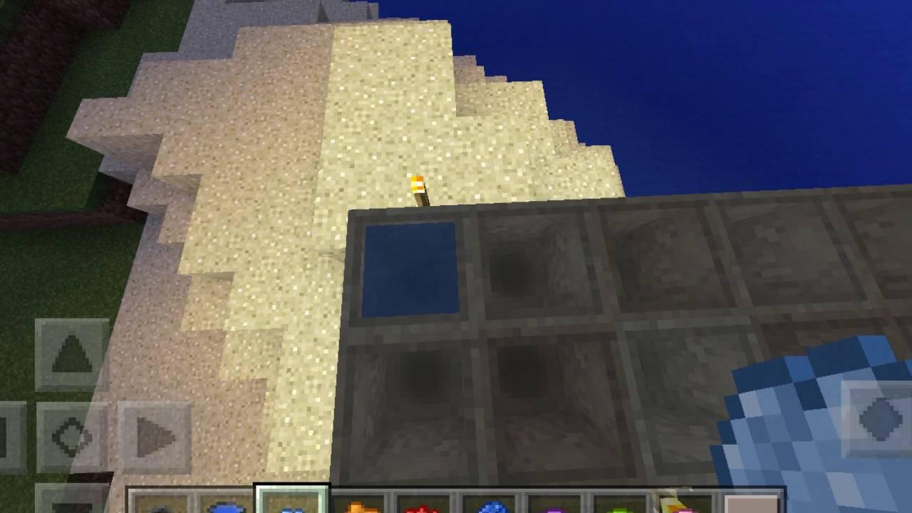 Wie Man Wasser Färbt Minecraft Pe YouTube - Minecraft hauser aus stein