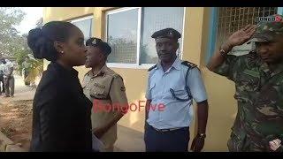 HESHIMA: Mhe. Jokate Mwegelo alivyopigiwa Saluti na Mwanajeshi